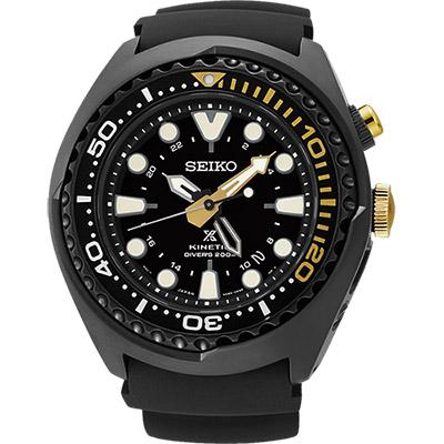 SEIKO PROSPEX特別版GMT潛水200米腕錶(SUN045J1)-黑/48mm