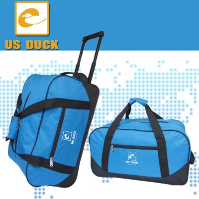 US DUCK尼龍拉桿旅行袋(可提/可拖/可拉) UN-0003