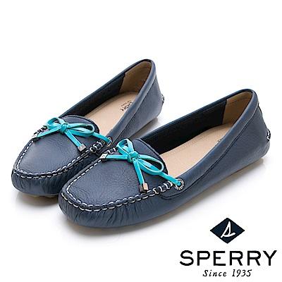 SPERRY 都會亮眼舒適牛皮開車鞋(女-海軍藍