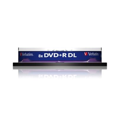 威寶 國際版 AZO 8X 8.5GB DVD + R DL 桶裝 (50片)