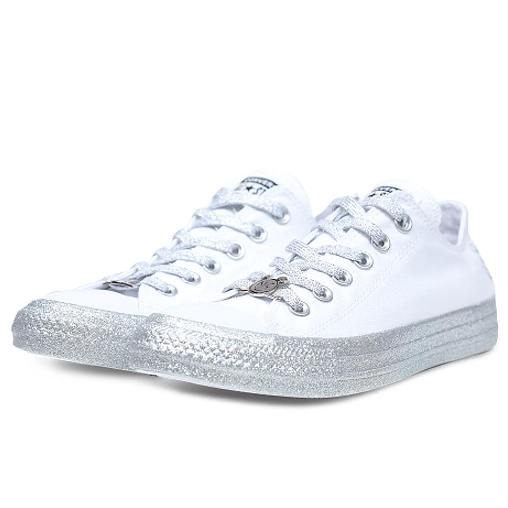 CONVERSE-女休閒鞋162238C-白
