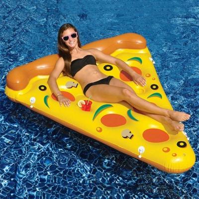 披薩造型游泳圈 水上充氣浮床 充氣浮排