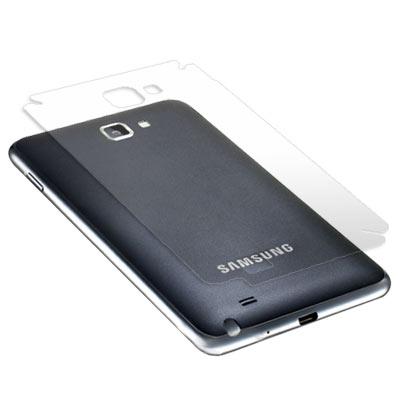 Samsung GALAXY Note  N7000 超透超顯影機身背膜(貼)
