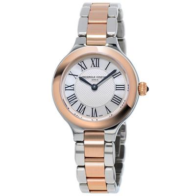 康斯登 CONSTANT  CLASSICS百年經典系列DELIGHT腕錶-玫瑰金X銀