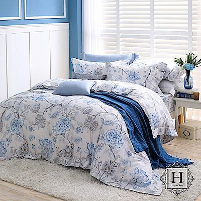 HOYA H Series杜蘭朵 雙人四件式頂級550織匹馬棉被套床包組