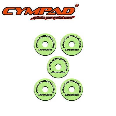 CYMPAD CS15/5G 銅鈸毛氈 綠色五入款
