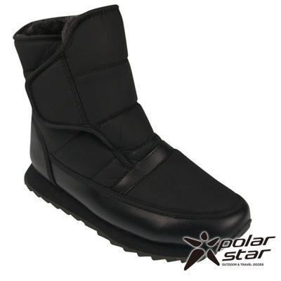 PolarStar 男 保暖雪鞋│雪靴 『黑』 P13619 @ Y!購物
