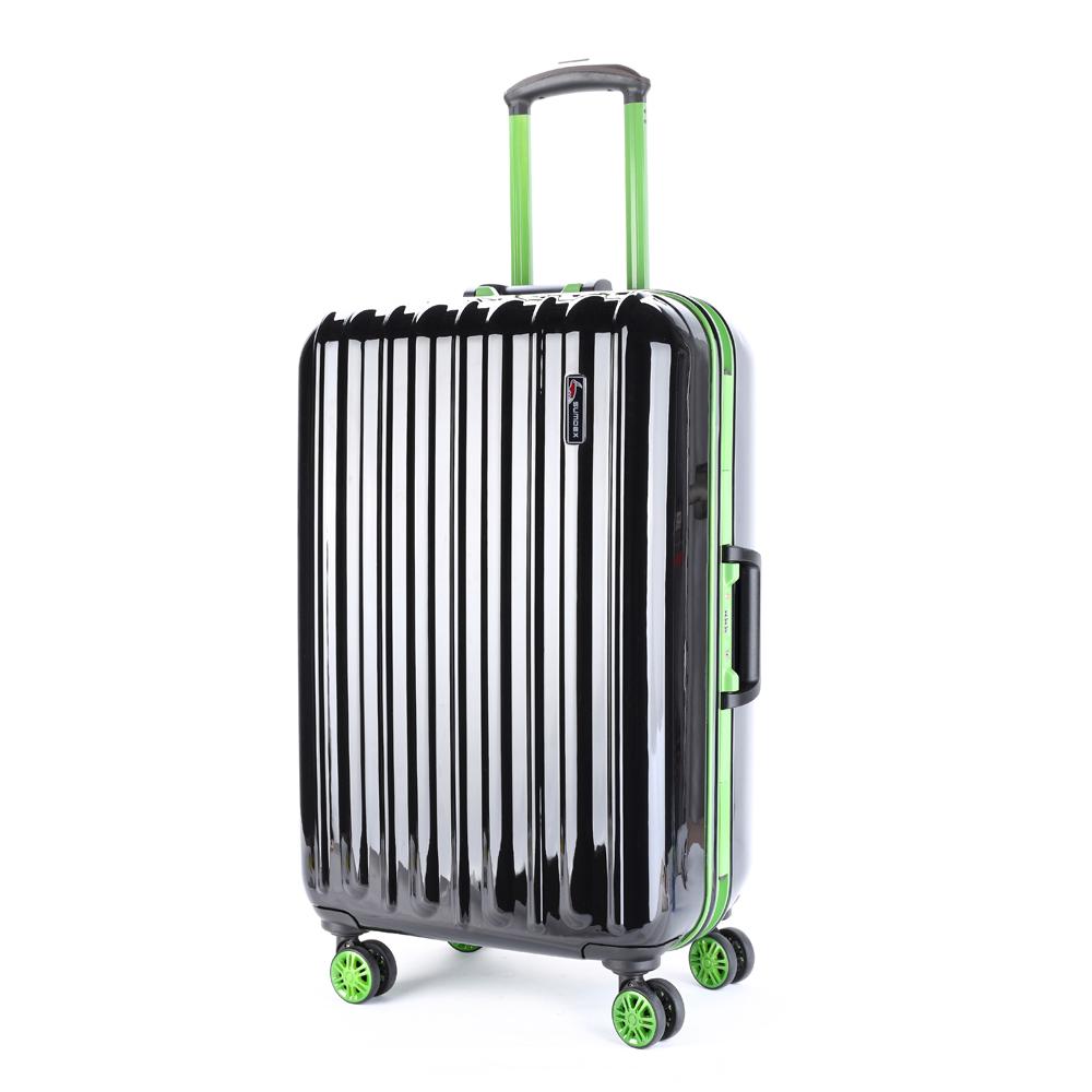 SUMDEX鋁框亮面行李箱20吋(黑色) SWR-780BK