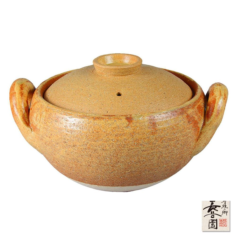 日本長谷園伊賀燒 日式風味燉煮湯鍋
