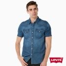 襯衫 短袖 男裝 牛仔深色水洗 - Levis