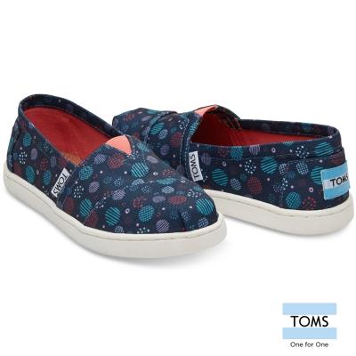 TOMS 普普風懶人鞋-孩童款