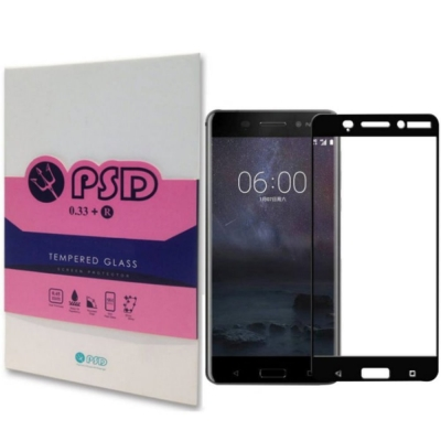 PSD  HTC U11  2.5D 滿版疏油疏水9H鋼化玻璃螢幕保護貼