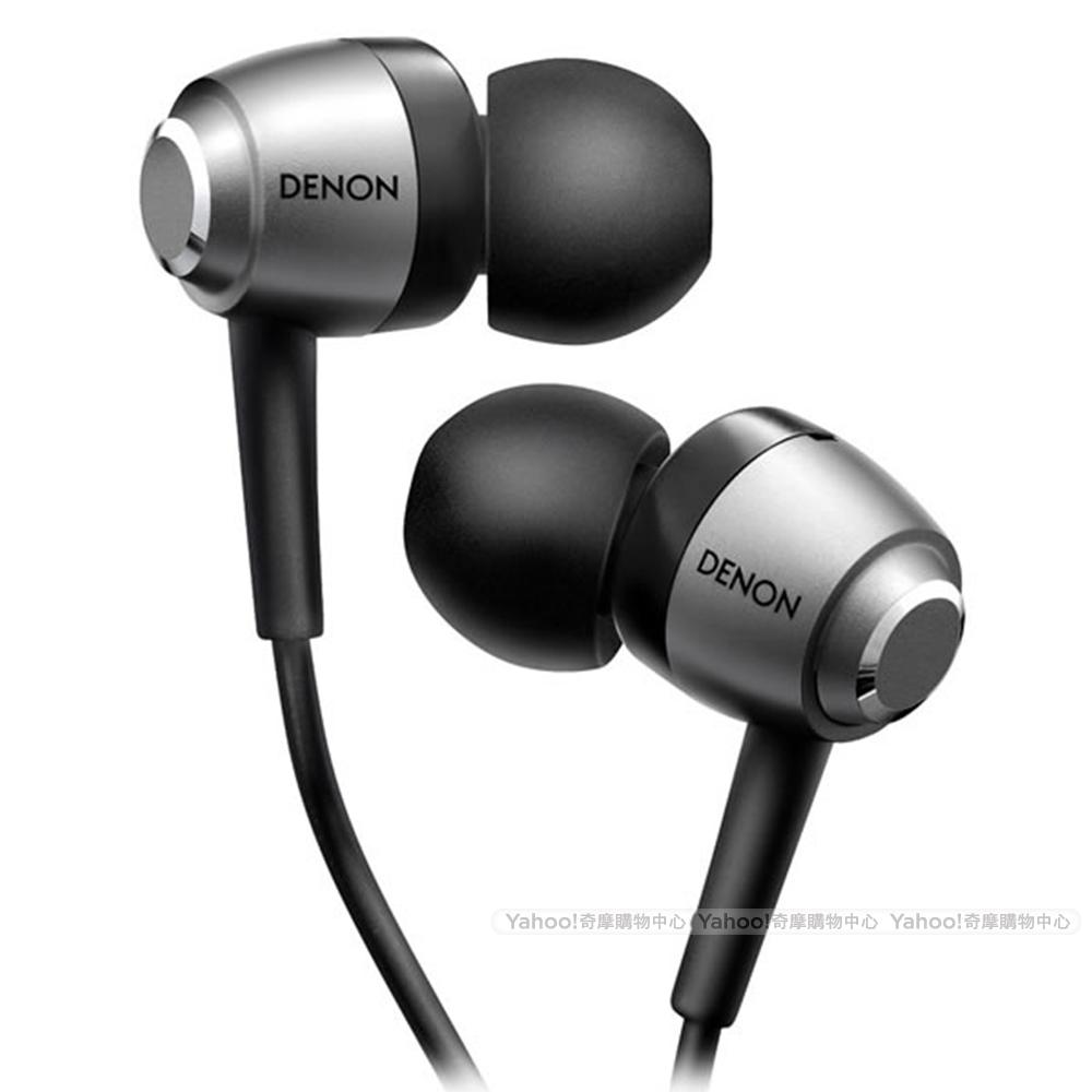 天龍 DENON AH-C560 銀色 耳道耳機