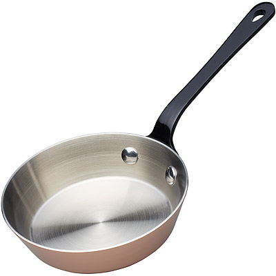 Master-Mini鍍銅不鏽鋼平底鍋-12cm