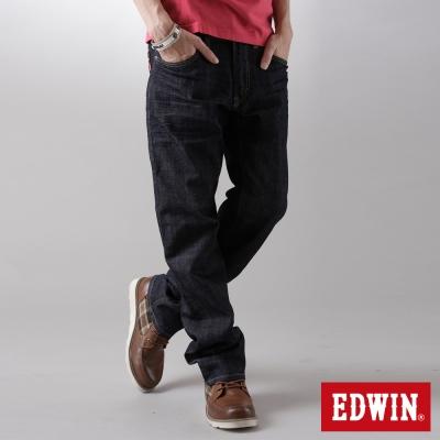 EDWIN-503-EDGE伸縮直筒牛仔褲-男-原藍色