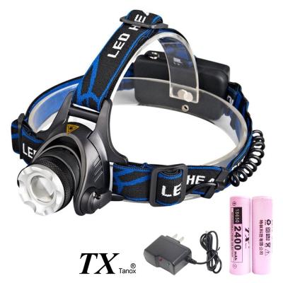 TX特林美國CREE T6LED伸縮變焦強亮頭燈(HD-T6K-NB)
