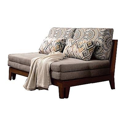 品家居 溫德爾絲絨布拉合式沙發床-149x108x73cm-免組