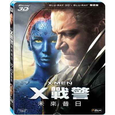 X戰警 未來昔日   3D+2D 雙碟版  藍光 BD