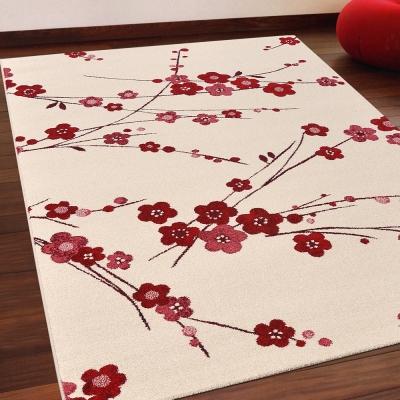 Ambience-比利時infinity 現代地毯 -梅花(133x195cm)