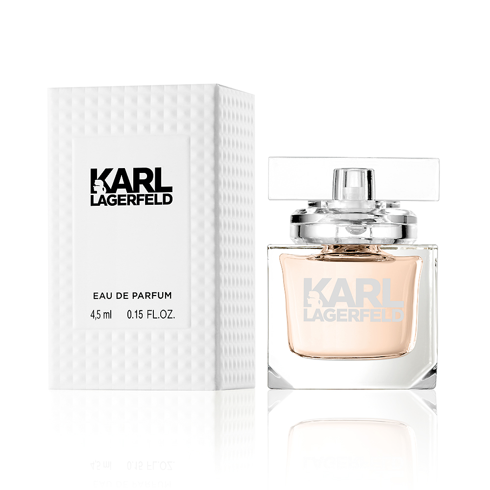 KARL LAGERFELD 卡爾同名時尚女性淡香精迷你瓶4.5ml