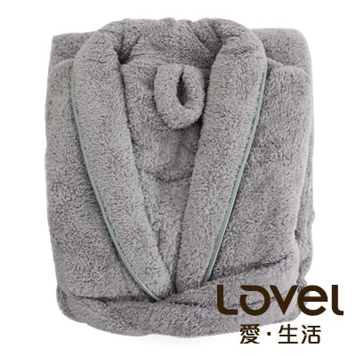LOVEL  7倍強效吸水抗菌超細纖維浴袍(共9色)