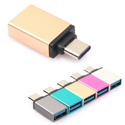 Type C to USB3.0 OTG 轉接傳輸器 外接USB 鍵盤 滑鼠 隨身碟
