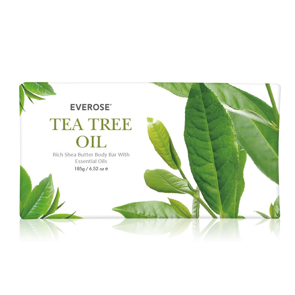 Everose 愛芙蓉 茶樹精油香水柔嫩皂185g