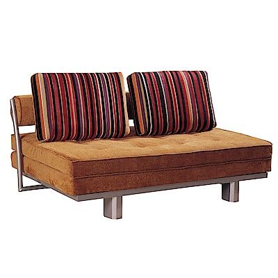 品家居 喬蒂絲絨布拉合式沙發床-150x102x74cm-免組