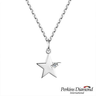 PERKINS 伯金仕 - Star系列 0.03克拉鑽石項鍊