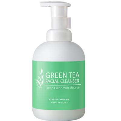 OGUMA水美媒 綠茶彈力潔顏慕絲