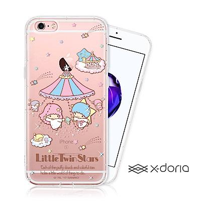 KikiLala 雙子星 iPhone 6/6s plus 彩繪水鑽手機空壓殼 ...