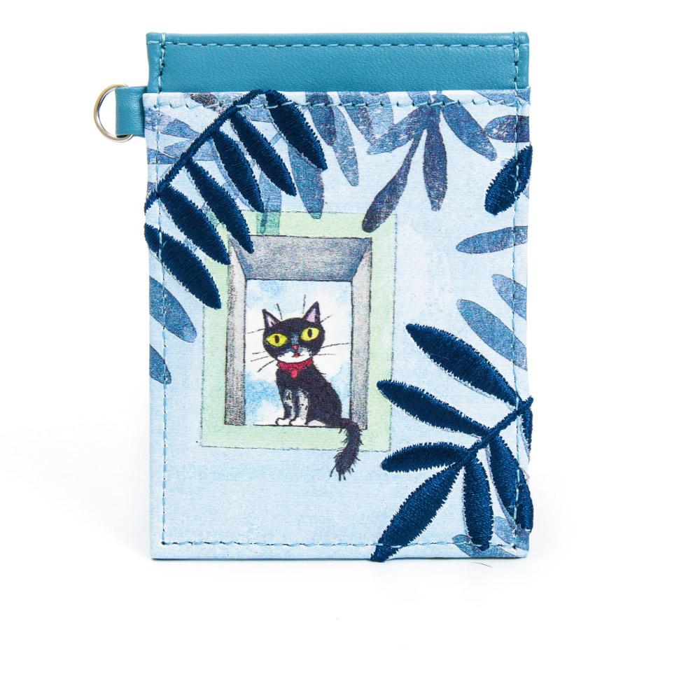 IFFI x 幾米-遺失了一隻貓系列-票夾-藍色貓