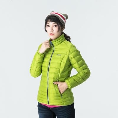 ATUNAS 歐都納 女款輕量羽絨外套 A-G1545W 亮綠