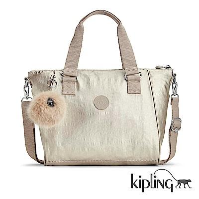 Kipling 手提包 銀河素面-小