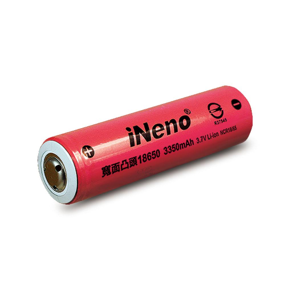 iNeno 18650國際牌(三洋)日系鋰電池 3350mah (台灣BSMI認證) 4入組