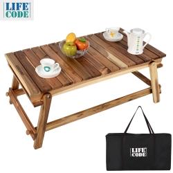 相思木野餐桌和室桌(附背袋)