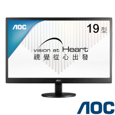 AOC e970Swn 19型 窄邊框電腦螢幕