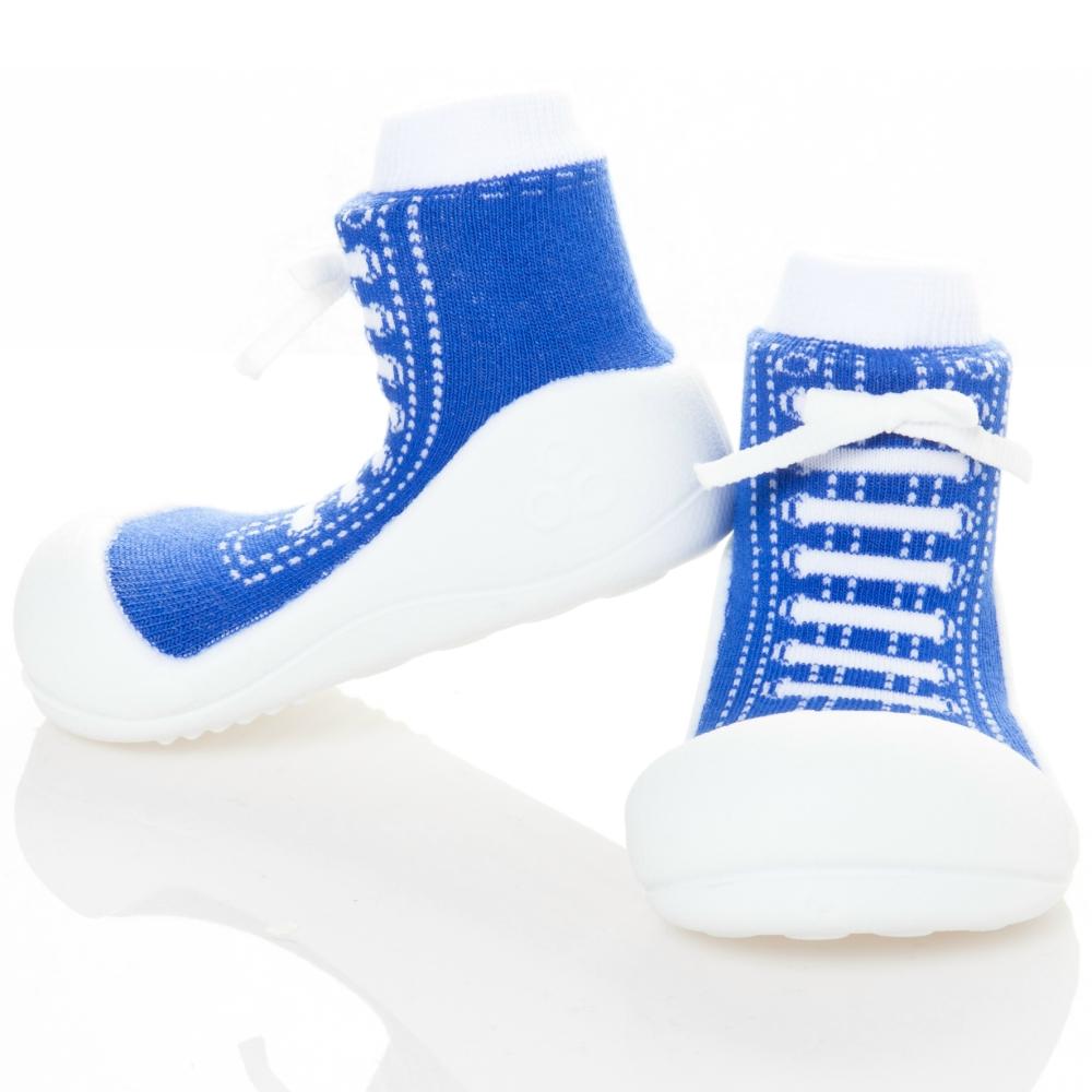 韓國Attipas 快樂學步鞋AS05-律動深藍