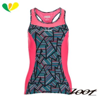 ZOOT 專業級美背式肌能鐵人上衣(女)(線彩紅)Z1706005