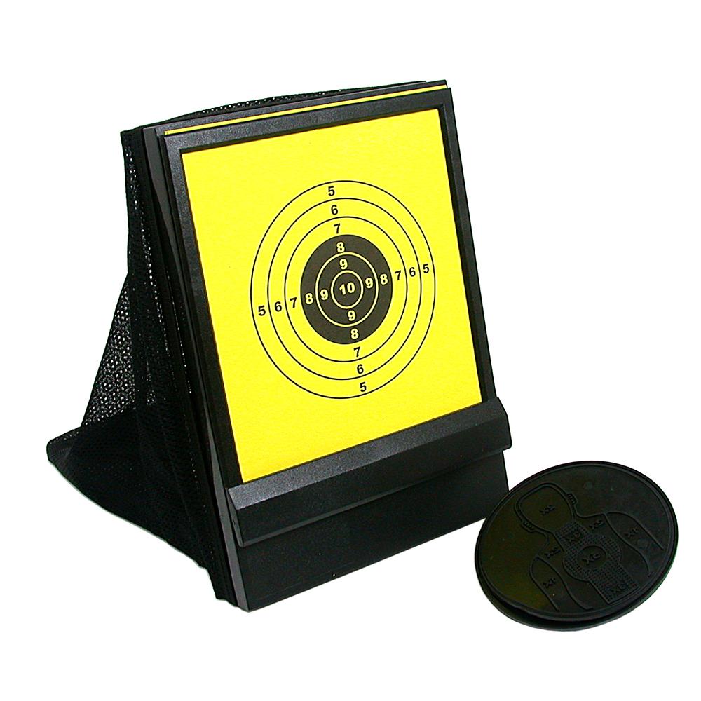 瓦斯空氣槍配件~網狀帶集彈器槍靶