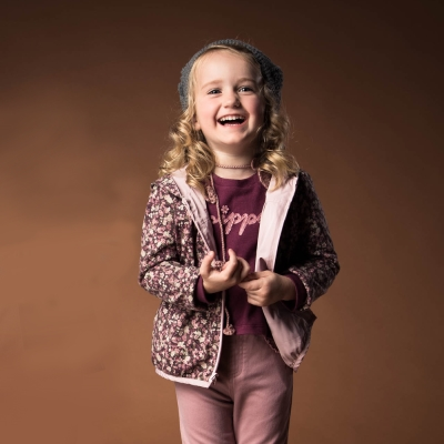PIPPY 雙面穿搭印花外套 粉紅