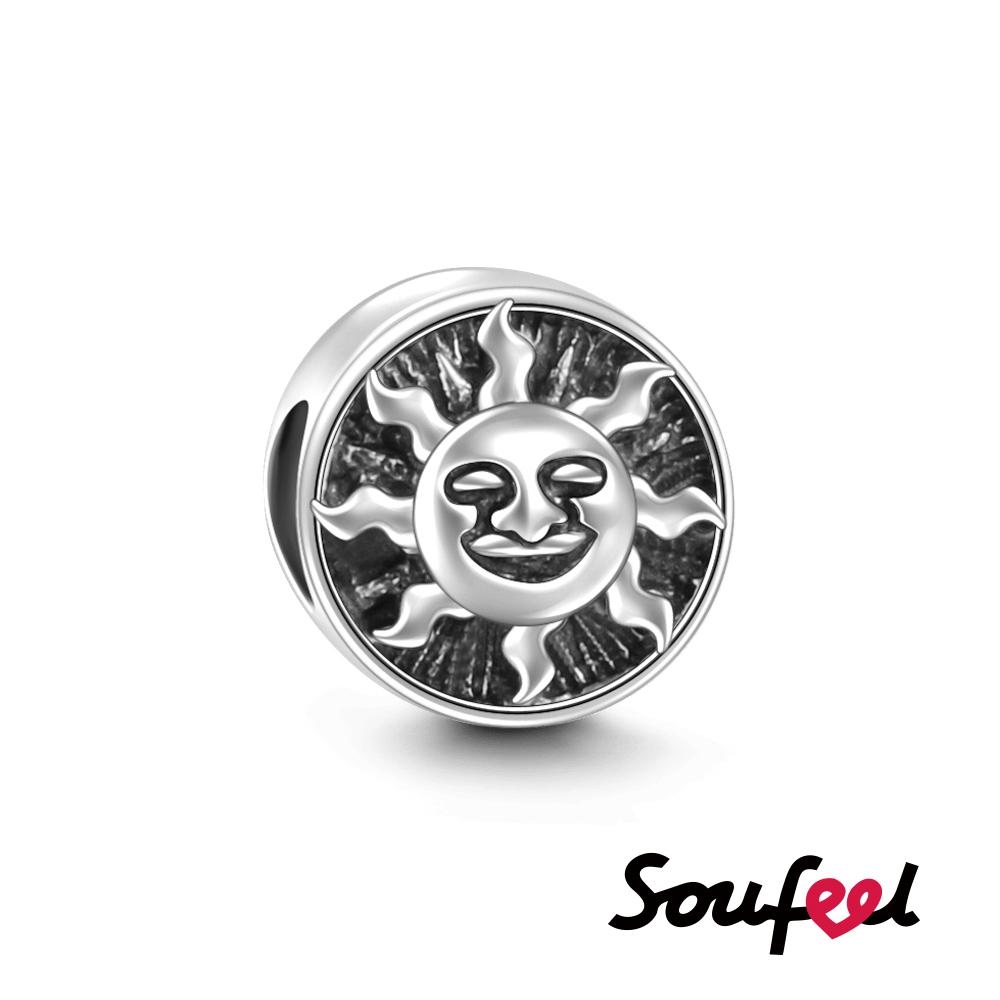 SOUFEEL索菲爾 925純銀珠飾 太陽神 串珠