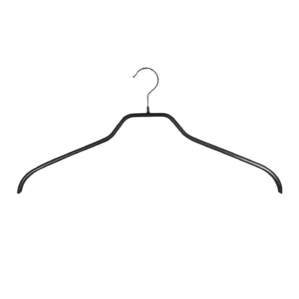 德國MAWA 極簡多功能衣架42cm/黑色 (20入)