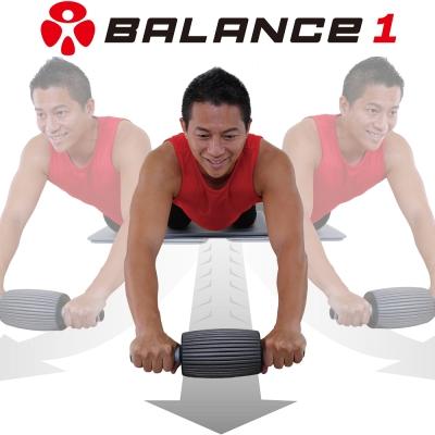 BALANCE 1 三合一多功能健腹輪 健腹按摩滾輪