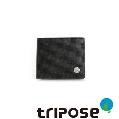 tripose   Yuppie系列個率性款男短夾 - 深咖