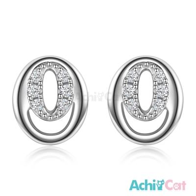 AchiCat 925純銀耳環 氧氣