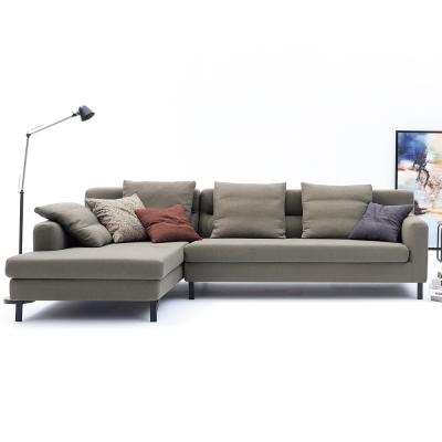 品家居 諾克夫L型沙發(左右可選)-283x170x83cm-免組
