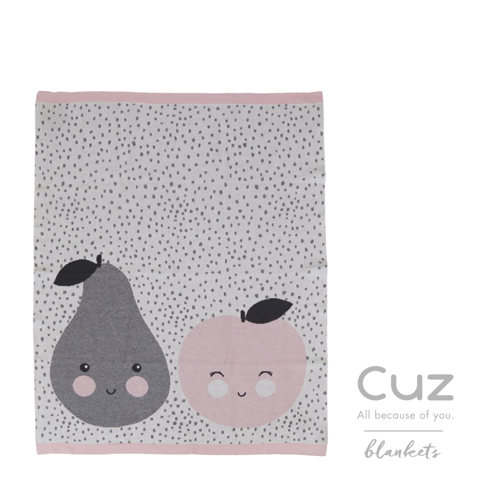 Cuz織毯-蘋果酪梨