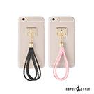 DDPOP iPhone 6/6S 韓流明星手機殼 編織手繩款