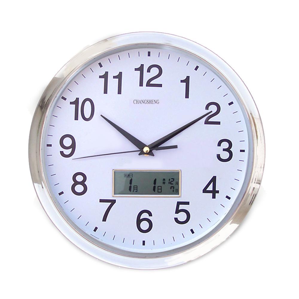 便利社 14吋 LED顯示月曆時鐘